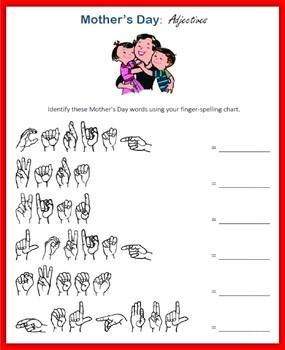 Mother's Day (ASL Fingerspelling)