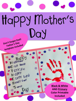 Mother's Day Acrostic Gift