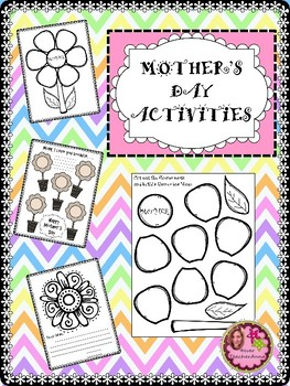 Mother's Day Activities - 3rd, 4th, 5th Grades