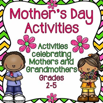 Mother's Day Activities - Celebrating Mothers and Grandmothers