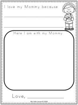 Mother's Day Activities: Worksheets