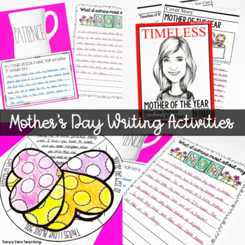Mother S Day Activities For Big Kids Writing Prompts Mother S Day Crafts