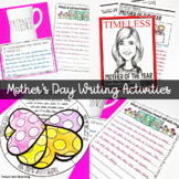 Mother's Day Activities for Big Kids Writing Prompts Mother's Day Crafts