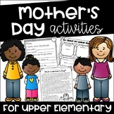 Mother's Day Activities for Upper Elementary