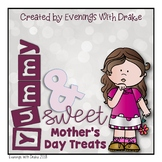Mother's Day Yummy and Sweet Color, Cut, and Paste Activity