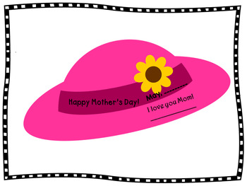 Mother's Day Craft - The Pink Hat