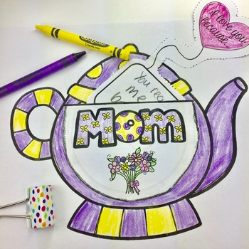 Mother's Day Activity Card