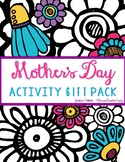 Mother's Day Reading Comprehension & Activity Craft Gift Pack