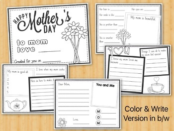 Mother's Day Activity - Gift Book