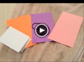 Mother's Day Activity Instructional Video