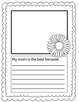 Mother's Day Activity Packet (Second Sunday in May!)