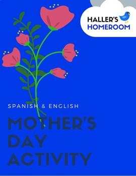 Mother's Day Activity - Portrait & Gratitude List [English & Spanish]