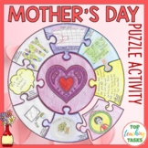 Mother's Day Activity Puzzle Poster | Mother's Day Craft