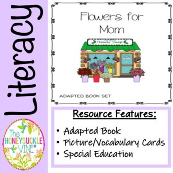 Mother's Day Adapted Book Set- Flowers for Mom
