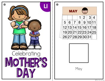 Mother's Day Adapted Books ( Level 1 and Level 2 )