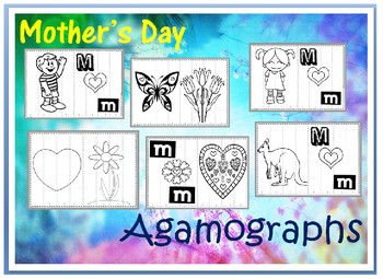 Mother's Day Agamograph and Writing