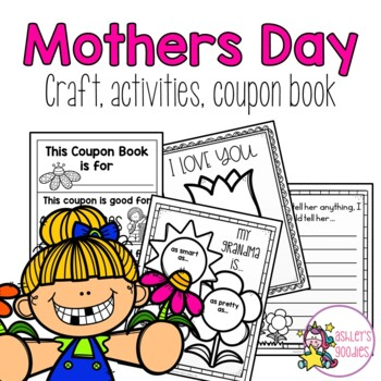 Mother's Day All About Mom Activity! Grandma and Aunt template included!