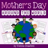 Mother's Day Around the World Literacy Activities Endless - 14 countries