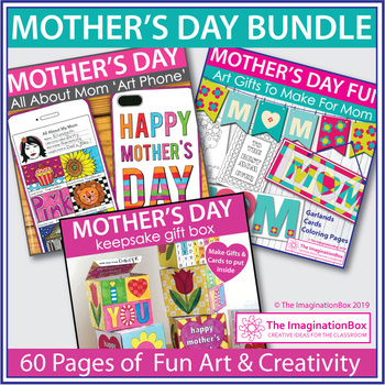 Mother S Day Art Activities Bundle By The Imagination Box Tpt