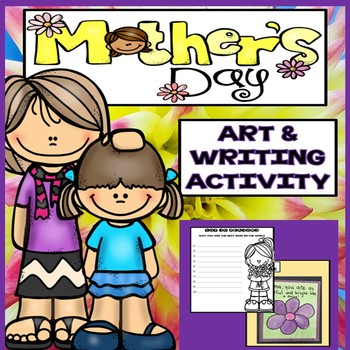 Mother's Day Art and Writing Activity