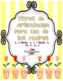 Spanish Mother's Day Articulation