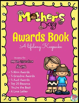 Mother's Day Awards Book