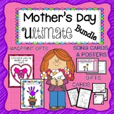 Mother's Day EDITABLE Hand Print  Mother's Day Cards Craft