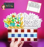Mother's Day Basket Craft Card