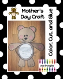 Mother's Day Bear Craft and Poem for Kindergarten