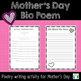 Mother's Day Biography Poem