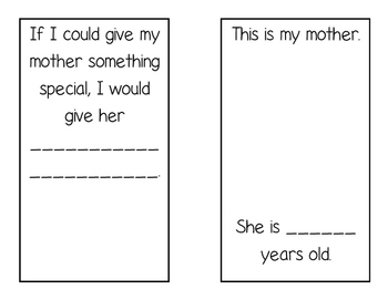 Mother's Day Book