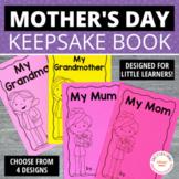 Mother's Day Gift   Keepsake Book for Preschool, Pre-K, and Kindergarten