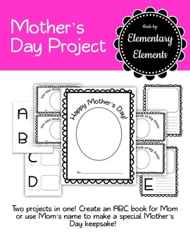 Mother's Day Book Project