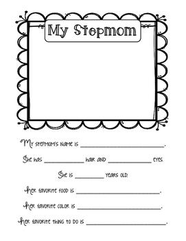 Mother's Day Book (Stepmom, Grandma & Aunt versions)