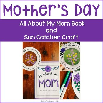 Mother's Day Book and Sun Catcher Craft