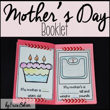 Mother's Day Booklet