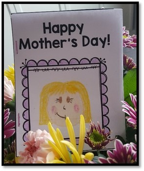 Mother's Day Booklet/Card {Three Easy Steps!}