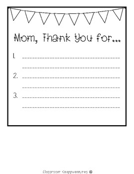 Mother's Day Booklet {Fits Target 8x8 Square Booklets}