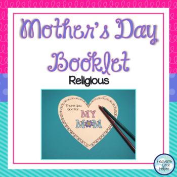 Mother's Day Booklet Religious