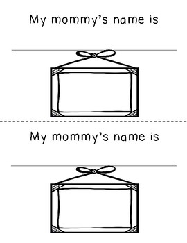 Mother's Day Books --Mommy Keepsake-- (Includes Grandma)