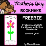 Mother's Day Bookmark {EDITABLE YEAR} FREEBIE