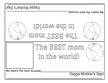 Mother's Day Bookmarks & DeskPlates