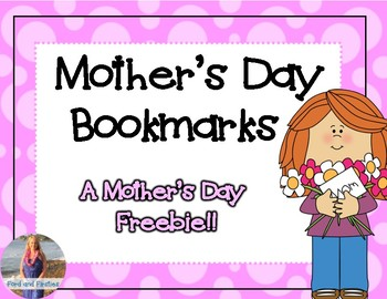 Mother's Day Bookmarks **Free!**