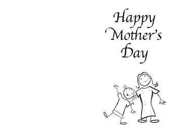 Mother's Day- Bookmarks, Word search and Cards