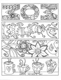 Mother's Day Bookmarks to Color