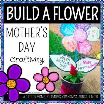 Mother's Day Build-A-Flower Activity
