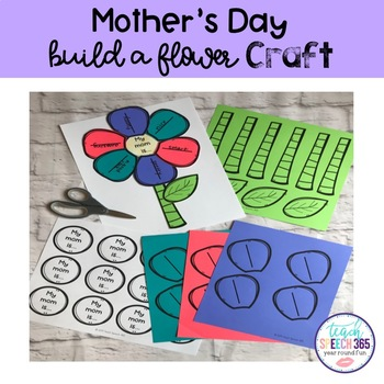 Mother's Day Build A Flower Craft