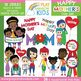 Mother's Day Clipart + Paper Bundle