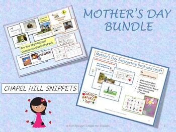 Mother's Day Bundle---Special Education and Speech