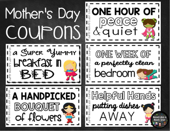 Mother's Day Bundle: Super Mom and Mother's Day Activities